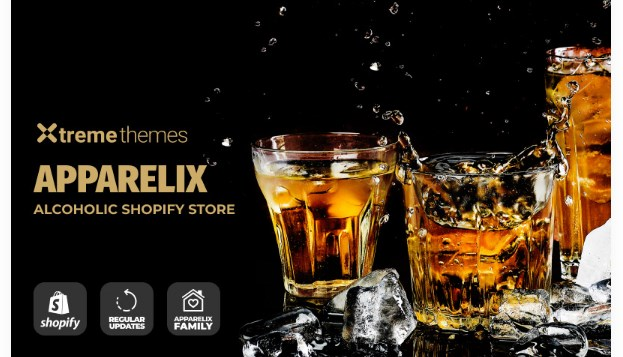 TM Apparelix Alcohol Online Store Template Shopify Theme