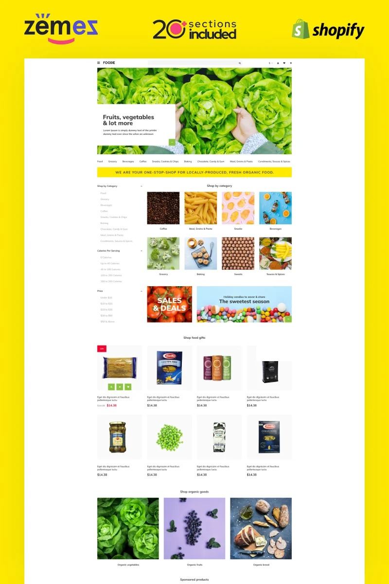 TM Foodie - Shopify Delivery Store Template Shopify Theme