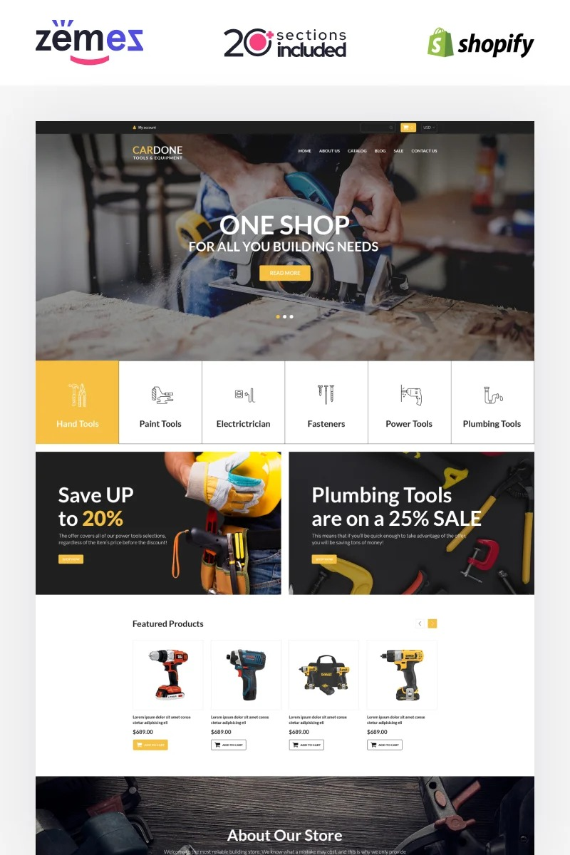 TM Power Tools Shopify Theme