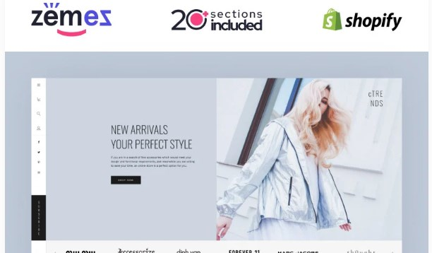 TM Shopify Lookbook Carousel Template Shopify Theme