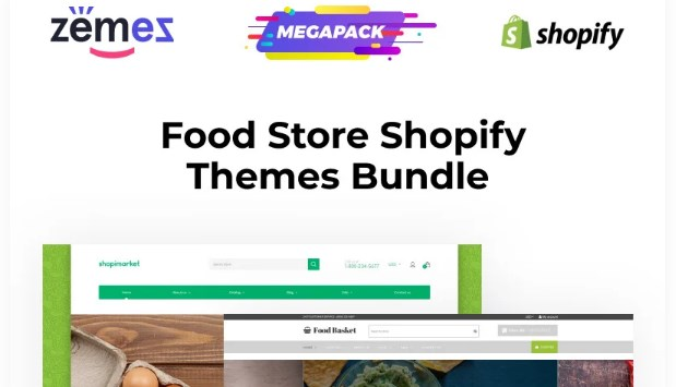 TM Shopify Themes for Food
