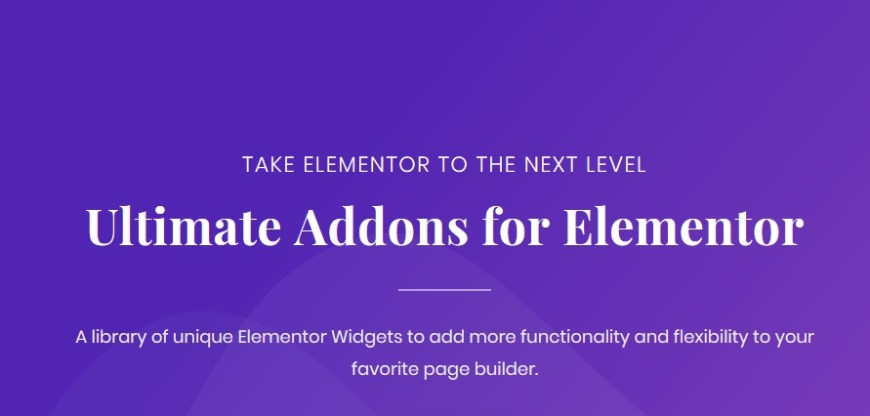 Ultimate Addons for Elementor Pro