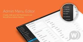 Admin Menu Editor Pro + Toolbar + Branding Addons