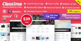 Classima - Classified Ads WordPress Theme