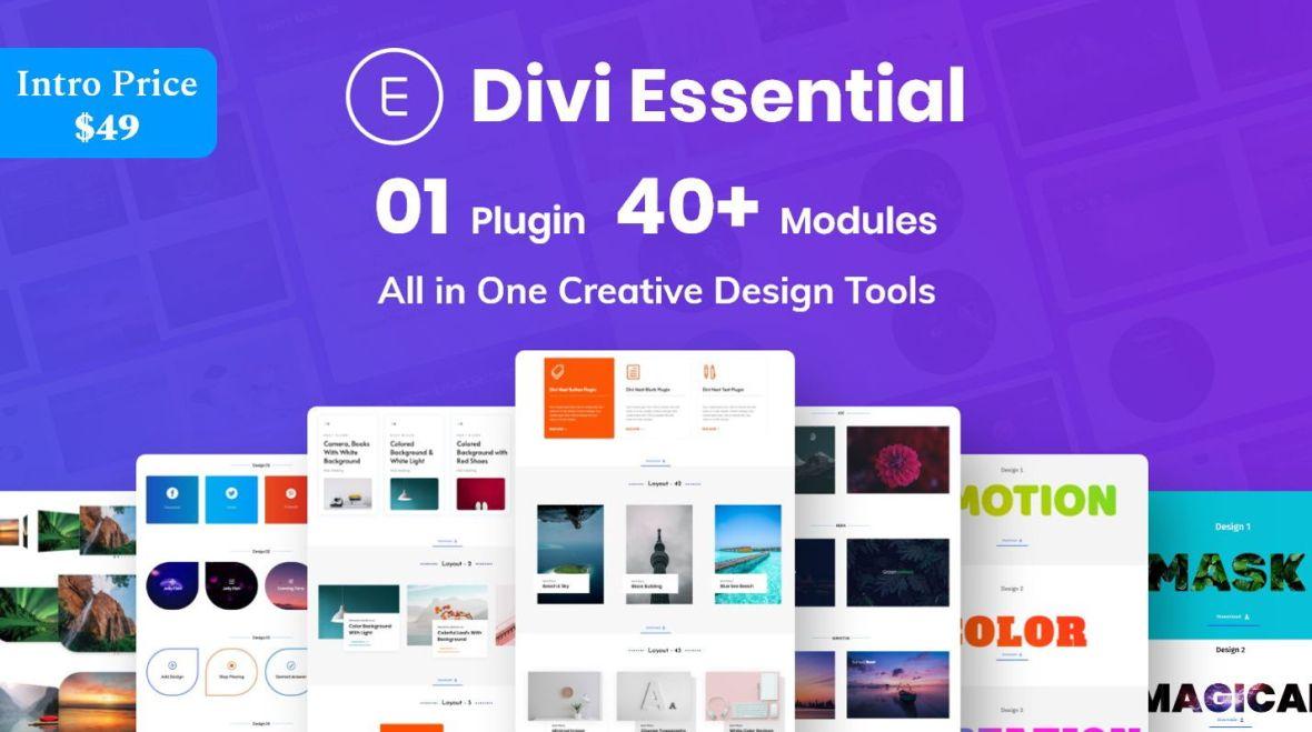 Divi Essential - Divi Extension For Next Label Modules