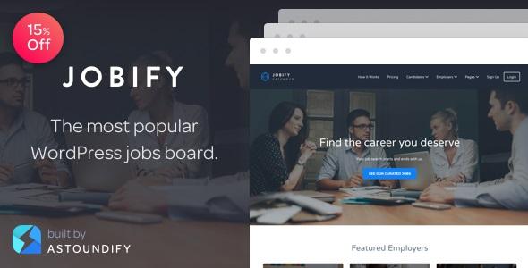 Jobify - The Most Popular WordPress Job Board Themes