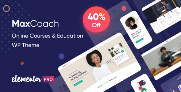 MaxCoach - Educational WP Theme