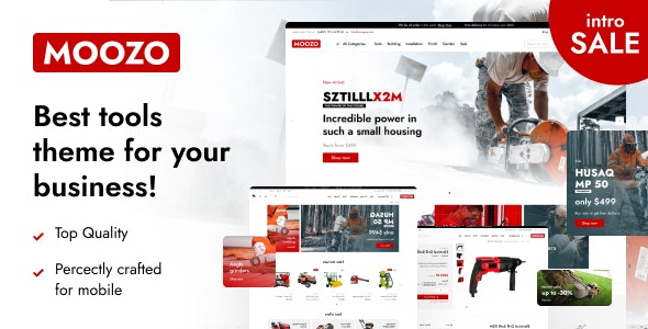 Moozo - Best Multipurpose WooCommerce Theme