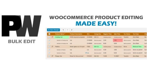 Pimwick WooCommerce Bulk Edit Pro
