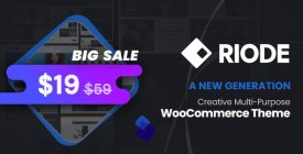 Riode - Multi-Purpose WooCommerce Theme