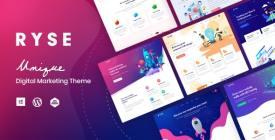 Ryse - SEO - Digital Marketing WordPress Theme