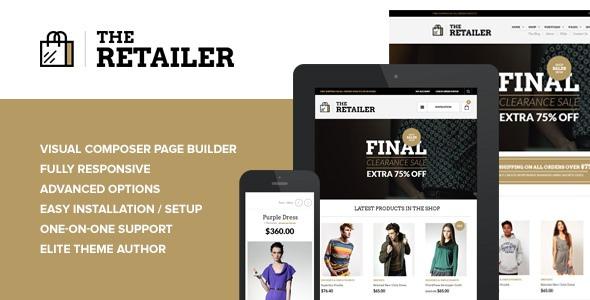 The Retailer Premium WordPress Theme for WooCommerce Online Store
