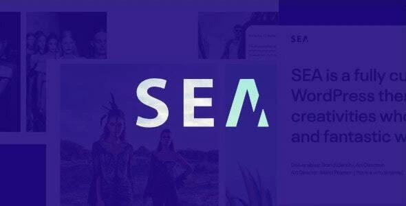 Gallery SEA - Responsive Creative Multipurpose WordPress theme by SeaTheme