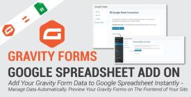 Gravity Forms Google Spreadsheet Addon