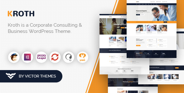 Kroth - Business / Consulting WordPress Theme