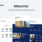 Mazuma – Business Elementor Template Kit