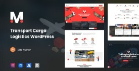 Moovit - Transportation Logistics WordPress Theme