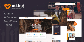 Asting - Charity - Donation WordPress Theme