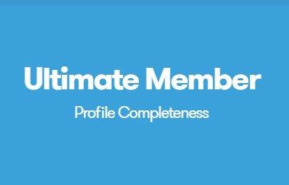 Ultimate Member Profile Completeness Addon