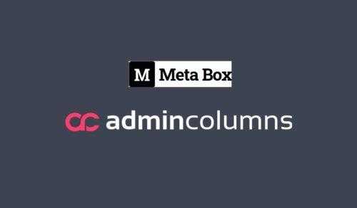 Admin Columns Pro - Meta Box