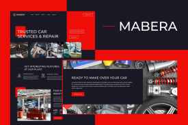 Mabera - Car Service - Repair Elementor Template Kit