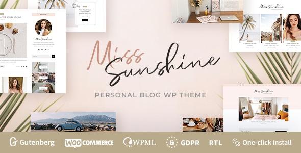 Miss Sunshine - Lifestyle - Beauty Women Blog