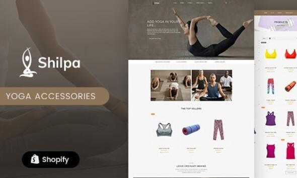 Shilpa - Yoga Store - Fitness Shopify Theme