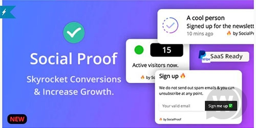 SocialProofo + Social Proof - FOMO Notifications for Growth (SaaS Ready)