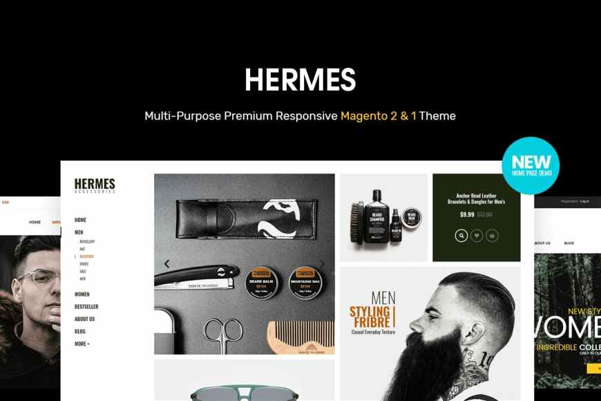 Hermes - Multi-Purpose Premium Responsive Magento - Theme