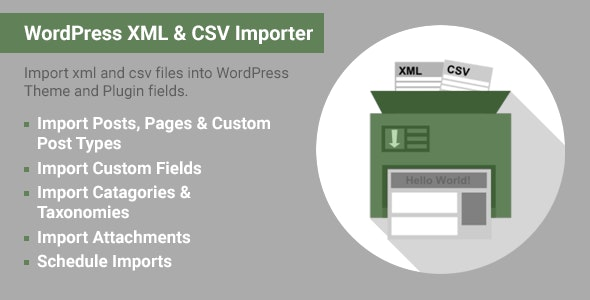 ImportWP Pro - WordPress XML - CSV Importer