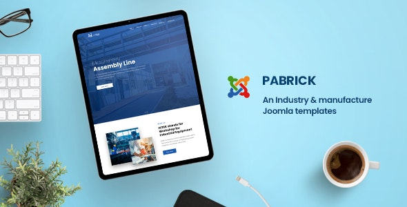 Pabrick - Industry and Manufacture Joomla Templates