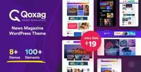 Qoxag - WordPress News Magazine Theme