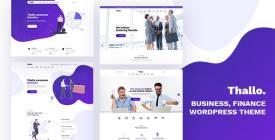 Thallo - Consulting - Finance WordPress Theme