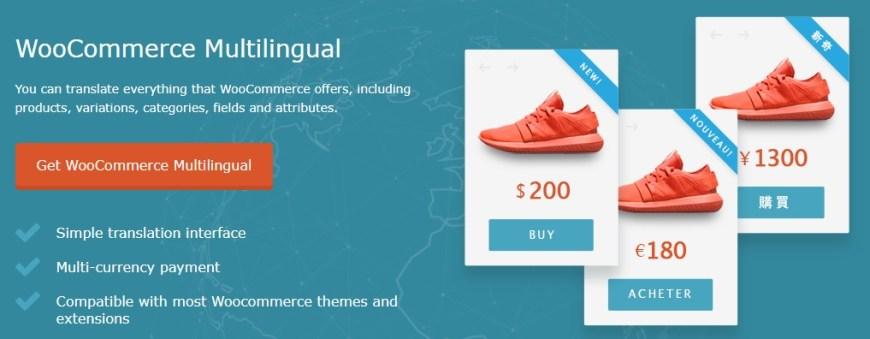 WPML WooCommerce Multilingual Addon