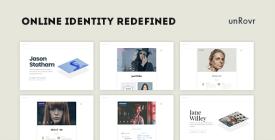 unRovr - Animated vCard - Resume WordPress Theme