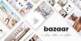 Bazaar - Modern Sharp eCommerce Theme