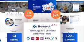 Braintech - Technology - IT Solutions WordPress Theme
