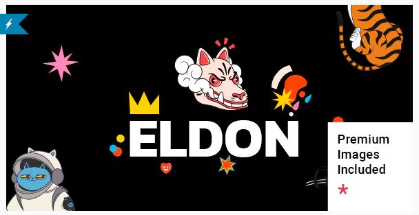 Eldon  - Artist Portfolio WordPress Theme