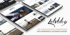 Lets Blog WordPress Theme