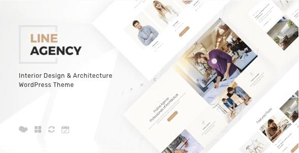 Line Agency | Interior Design - Architecture WordPress Theme