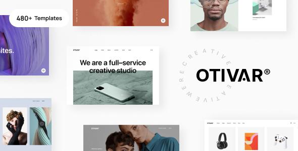 Otivar - Portfolio Theme for Creatives