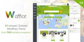 Woffice - Multipurpose IntranetExtranet WordPress Theme