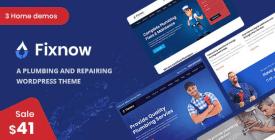 Fixnow - A Perfect Plumbing WordPress Theme