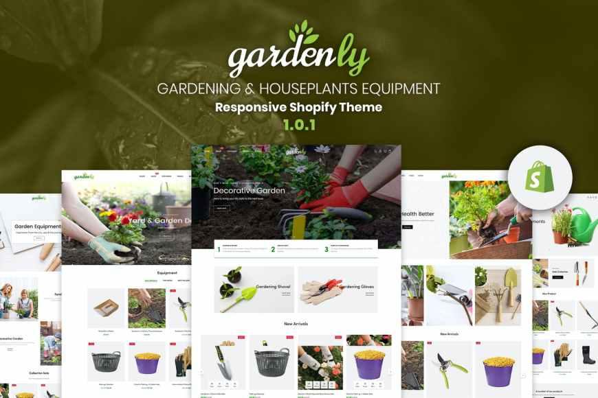 Gardenly | Gardening - Houseplants Shopify Theme