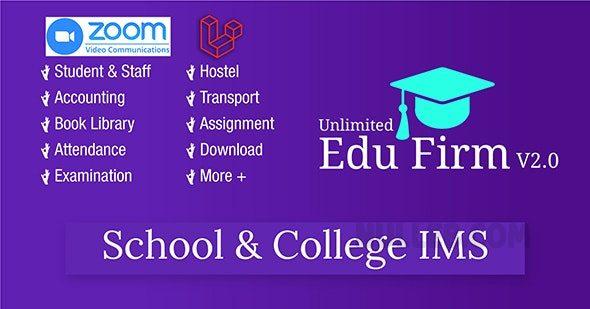 Unlimited Edu Firm School - College Information Management System