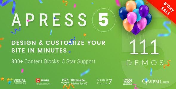 Apress Wordpress Theme