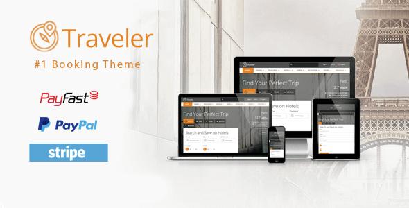 Traveler - Travel Tour Booking WordPress Theme