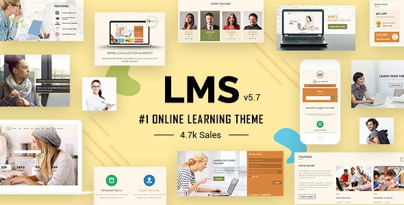 LMS - Learning Management System Education LMS WordPress Theme