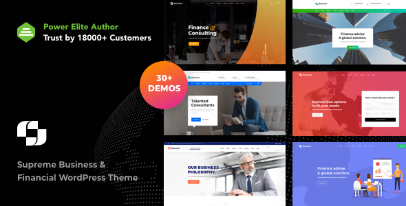 Businext - Supreme Businesses and Financial Theme