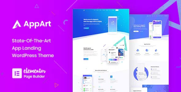 AppArt - Creative WordPress Theme For Apps